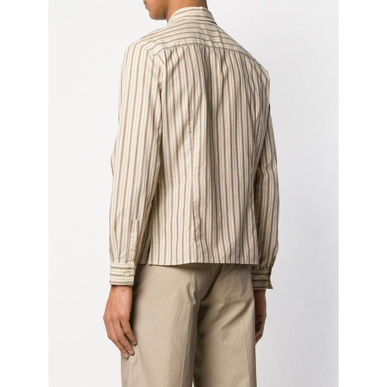 1990s Romeo Gigli Striped Shirt In Excellent Condition For Sale In Lugo (RA), IT