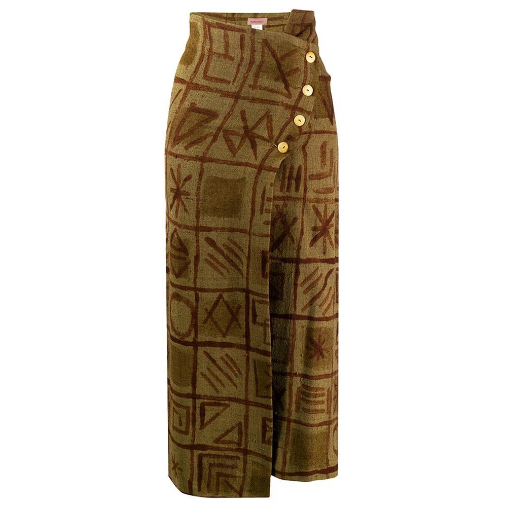 1990s Romeo Gigli Wrap Skirt