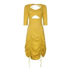 1990s Runway Worn Jean Paul Gaultier Cotton Dress