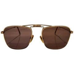 1990s  Valentino by Oliver aviator sunglasses