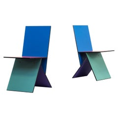 1990s Verner Panton 'Vilbert Chairs' for Ikea, Set of 2