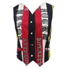 1990s Versace Beatles vest / gilet