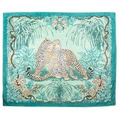 1990's Vintage Hermès Jungle Love Rare Beach Towel Excellent Condition