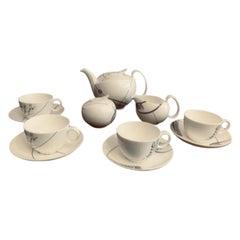 1990s Wedgwood Bone China Tea Set-Royal College of Art Kensington Anniversary