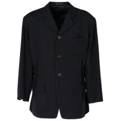 1990s Yohji Yamamoto Black Jacket