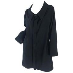 1990s Ys Yohji Yamamoto wide collar dress