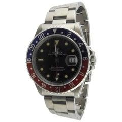1991 Rolex GMT - Master Pepsi Bezel Men's Watch 16700 Automatic