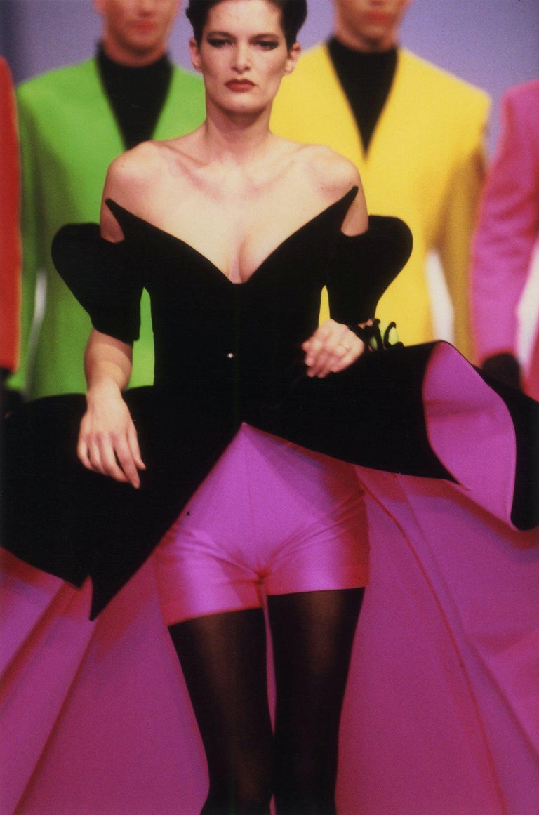 Iconic Fall Winter 1990-91 Thierry Mugler documented
