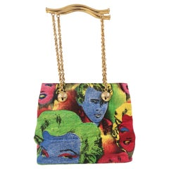 1991 Versace Marilyn Monroe James Dean Warhol bag
