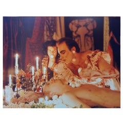 """1992 Photograph """"The Banquet"""" of Hunter Reynolds & Chrysanne Stathacos"""