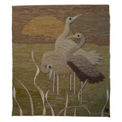 1993 Don Freedman Crane Wall Hanging