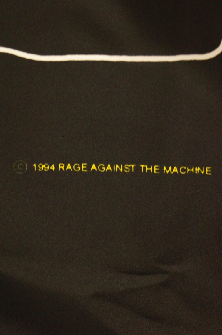 Black 1994 Rage Against The Machine Che Guevara Wall Flag Scarf For Sale