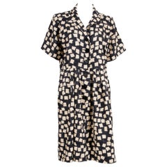 1994s Catwalk Summer Yves Saint Laurent Silk African Dress