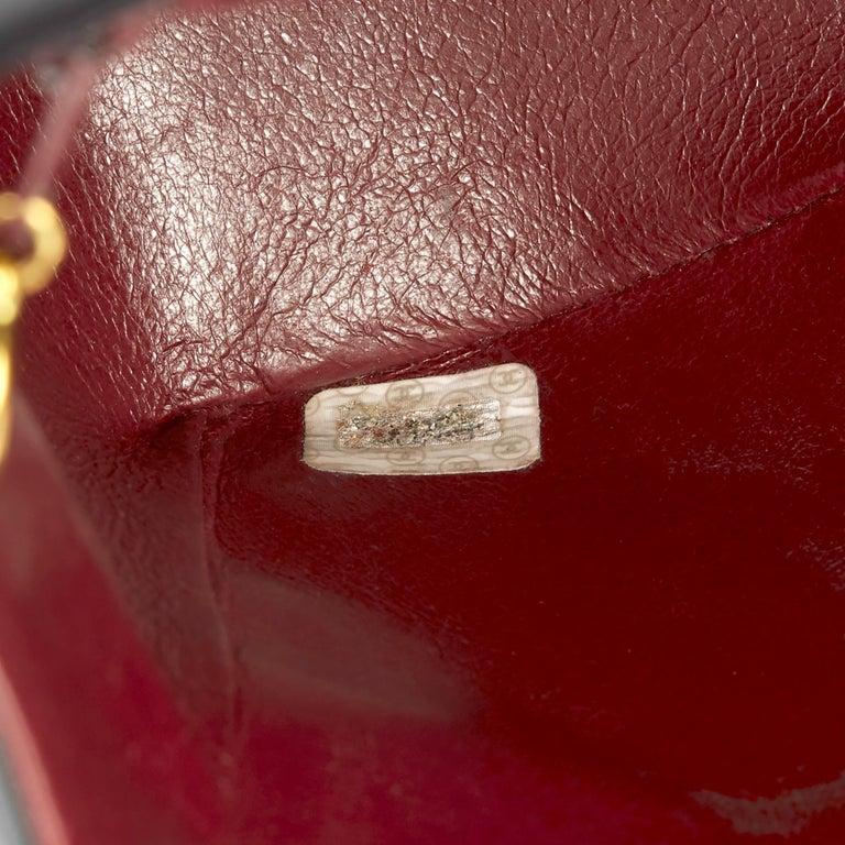 1995 Chanel Black Quilted Lambskin Vintage Maxi Jumbo XL Flap Bag  5