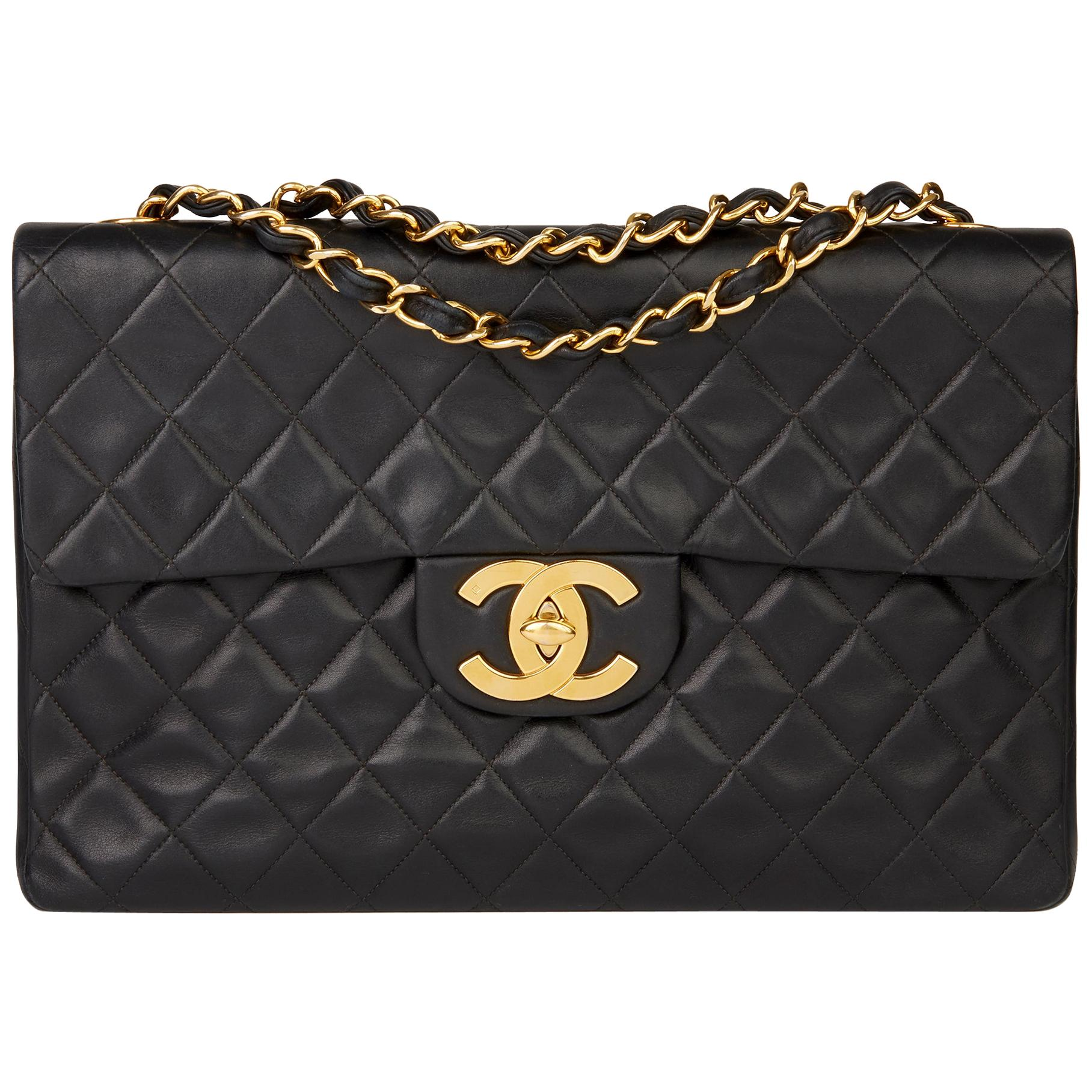 5533acd4991 Chanel Jumbo Flap Bags - 180 For Sale on 1stdibs