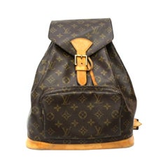 1995 Louis Vuitton Monogram  Montsouris BackPack