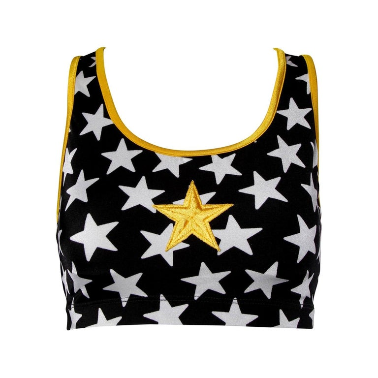 1996 Iconic OMO Norma Kamali Crop Top as Worn in the Movie Clueless For Sale