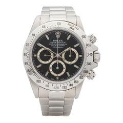 1996 Rolex Daytona Zenith Stainless Steel 16520 Wristwatch