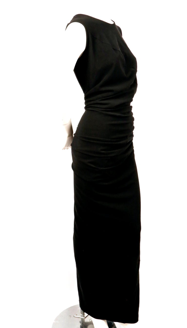 1997 COMME DES GACONS black 'lumps and bumps' runway dress In Excellent Condition For Sale In San Fransisco, CA