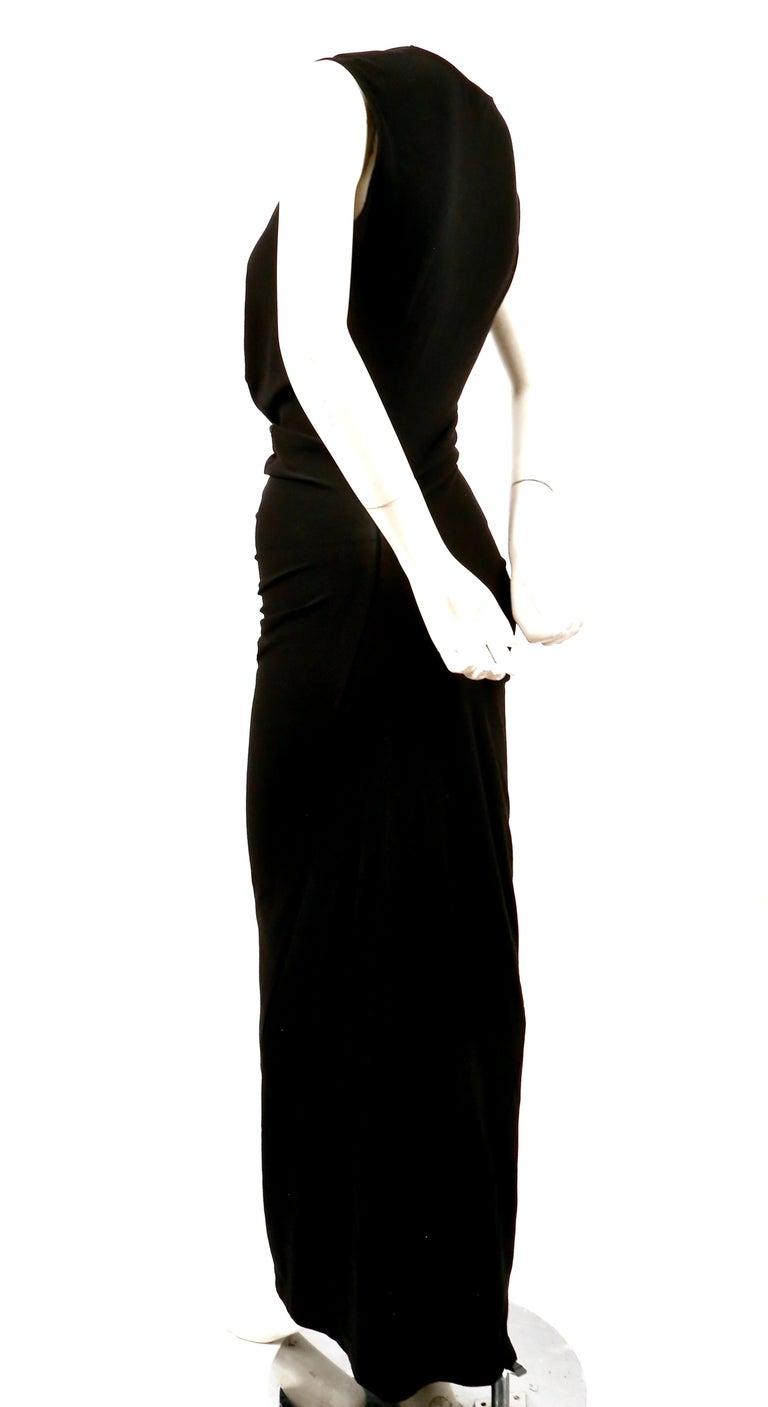 Women's 1997 COMME DES GACONS black 'lumps and bumps' runway dress For Sale