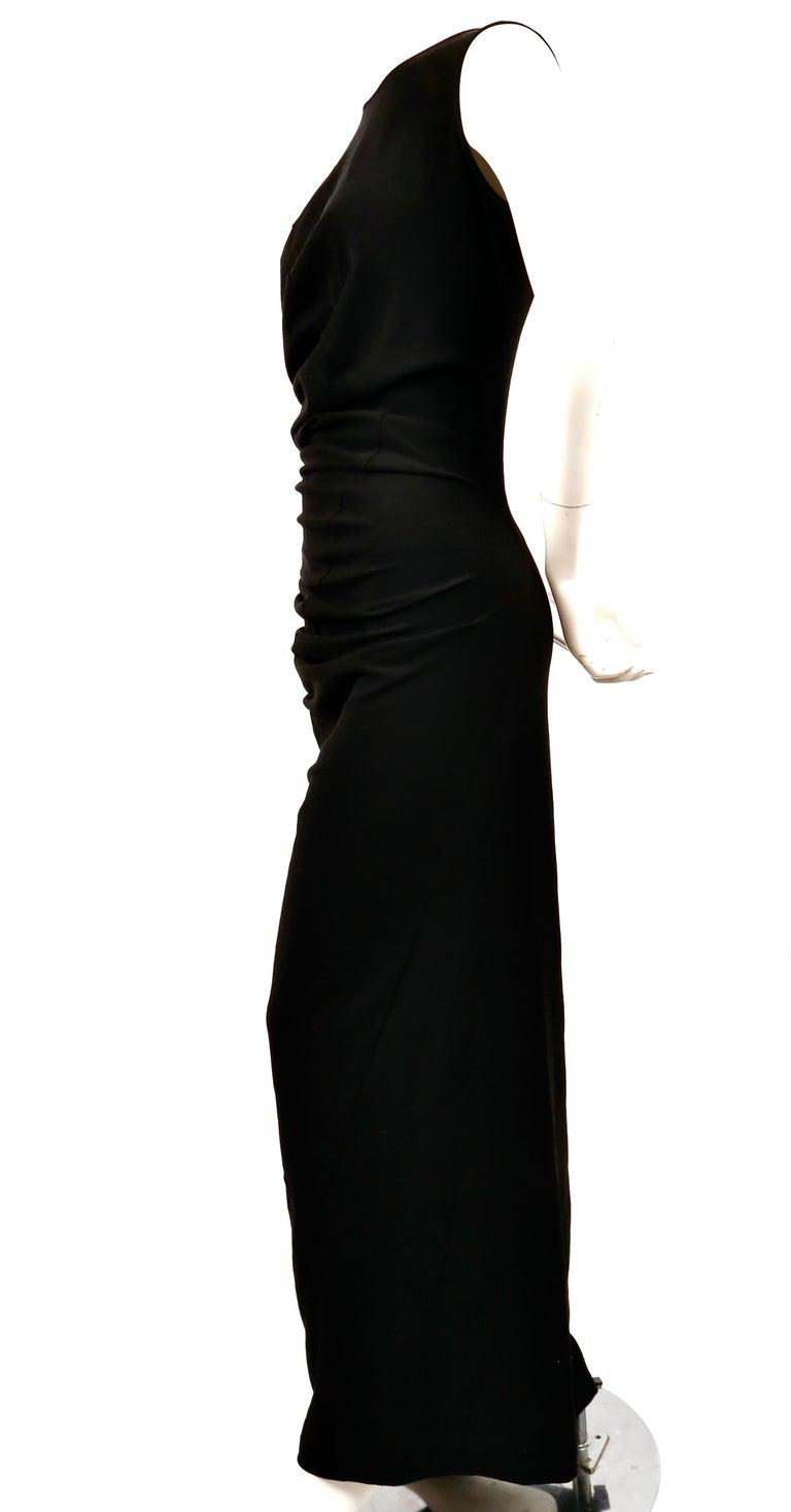 1997 COMME DES GACONS black 'lumps and bumps' runway dress For Sale 1