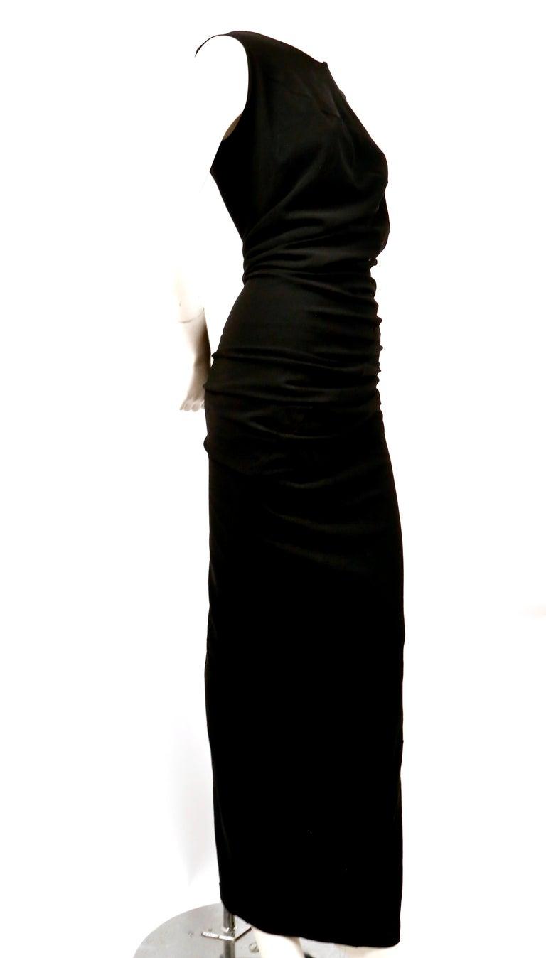 1997 COMME DES GACONS black 'lumps and bumps' runway dress For Sale 2