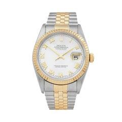 1997 Rolex Datejust Steel & Yellow Gold 16233 Wristwatch