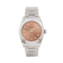 1997 Rolex Oyster Perpetual Stainless Steel 67480 Wristwatch