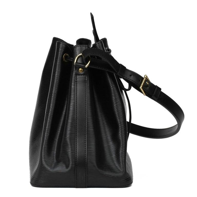 1998 Louis Vuitton Black Epi Leather Vintage Petit Noé In Excellent Condition For Sale In Bishop's Stortford, Hertfordshire