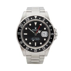 1998 Rolex GMT-Master Stainless Steel 16700 Wristwatch