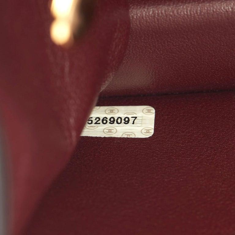 1999 Chanel Black Quilted Lambskin Vintage Medium Classic Single Flap Bag  6