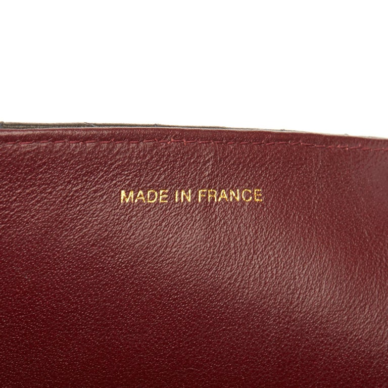 1999 Chanel Black Quilted Lambskin Vintage Medium Classic Single Flap Bag  5