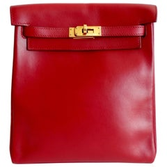 Hermés 1999 Red Gulliver Kelly Ado 20cm