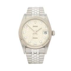 1999 Rolex Datejust Stainless Steel 78274 Wristwatch