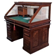 19th Century American Cutler & Sons Model 1 Roll Top Desk