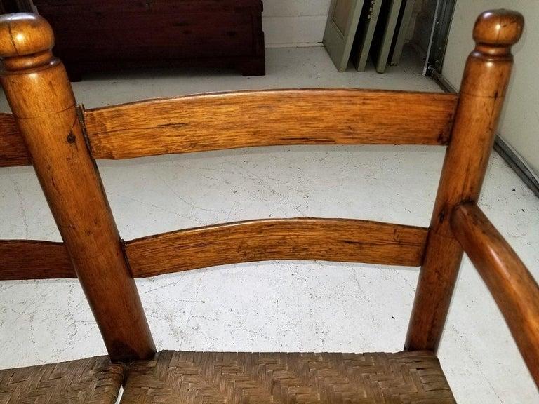 19th Century 19 Century American Pioneer Walnut Wagon Seat For Sale