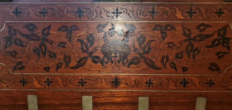 19th Century Anglo Indian Stationery Campaign Chest, Outstanding For Sale 5