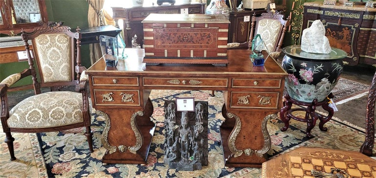 19th Century Anglo Indian Stationery Campaign Chest, Outstanding In Good Condition For Sale In Dallas, TX