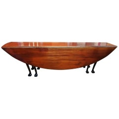 19C Country Squires Mahogany Hunt Table