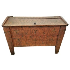 19th Century Eastern European Shepherds Coffer or Chest