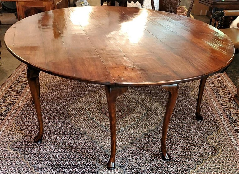 19th Century Irish Elm Wake Table, Outstanding For Sale 5