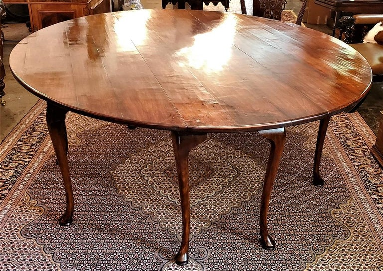 19th Century Irish Elm Wake Table, Outstanding For Sale 6