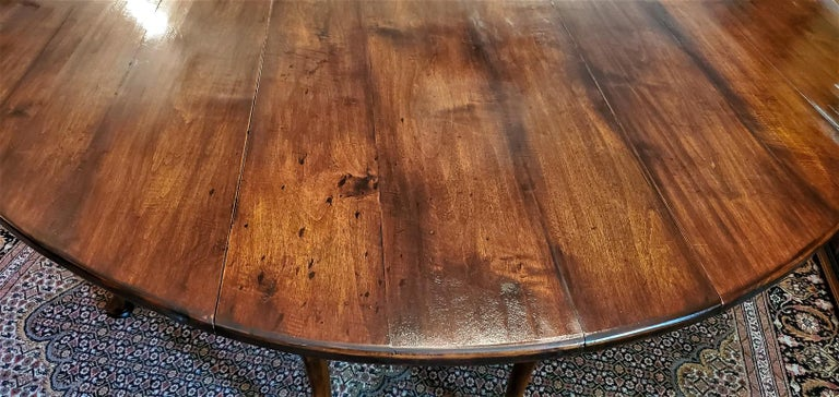 19th Century Irish Elm Wake Table, Outstanding For Sale 7