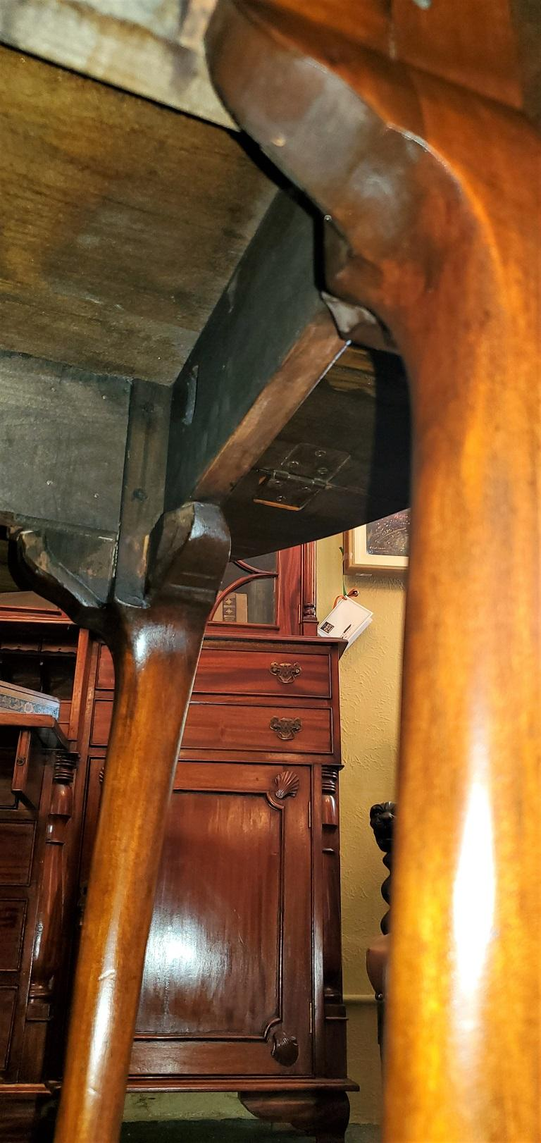 19th Century Irish Elm Wake Table, Outstanding For Sale 12