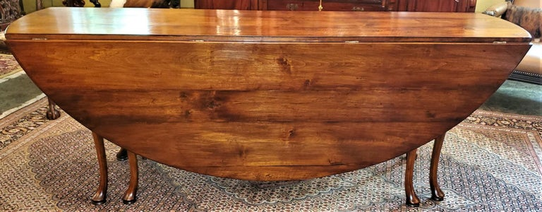 19th Century Irish Elm Wake Table, Outstanding For Sale 13