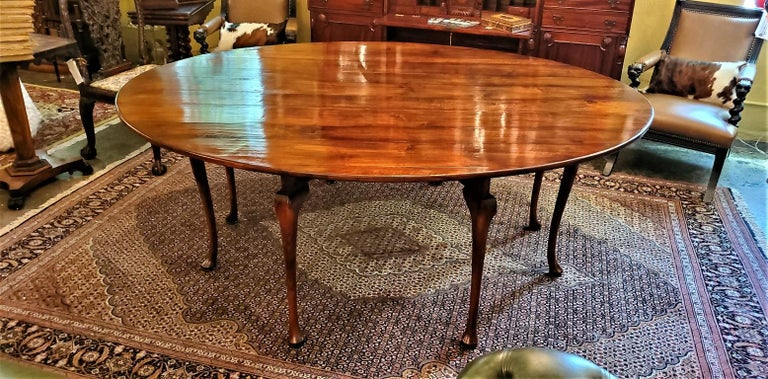 19th Century Irish Elm Wake Table, Outstanding For Sale 14