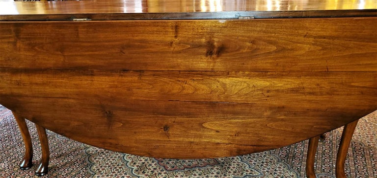 High Victorian 19th Century Irish Elm Wake Table, Outstanding For Sale