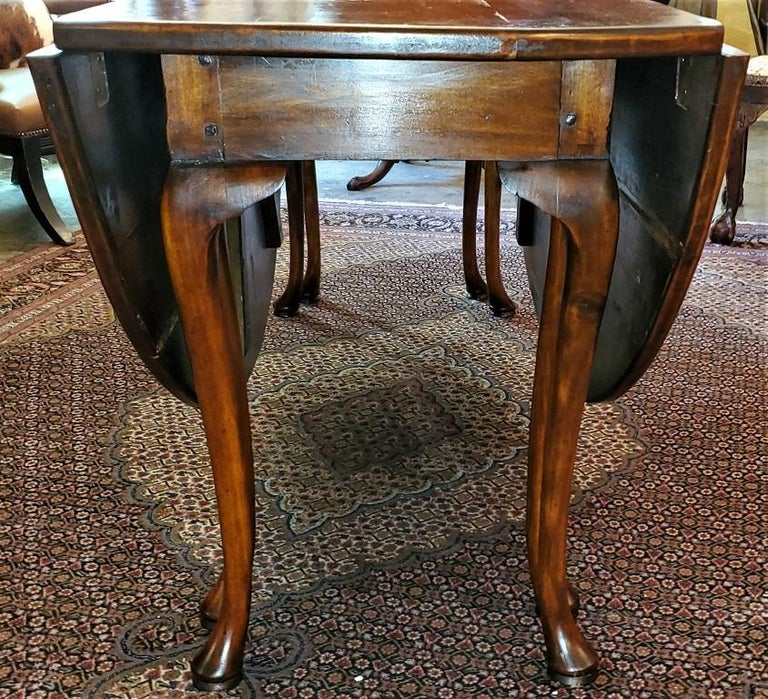 19th Century Irish Elm Wake Table, Outstanding For Sale 2