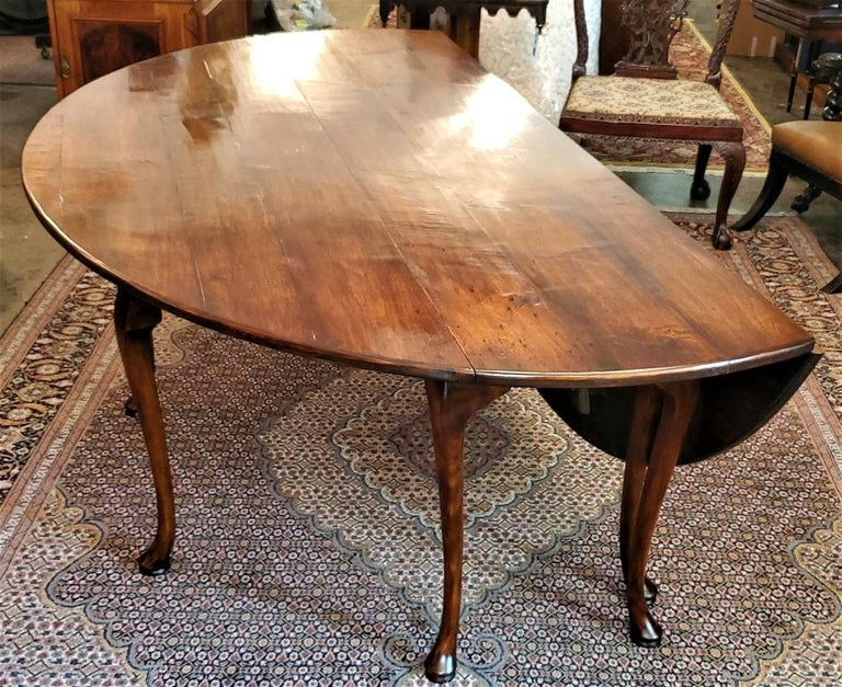 19th Century Irish Elm Wake Table, Outstanding For Sale 4