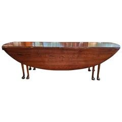 19th Century Irish Oak Wake Table